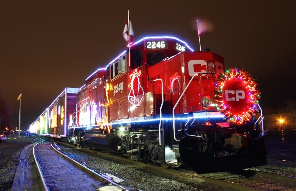 montreal holiday train