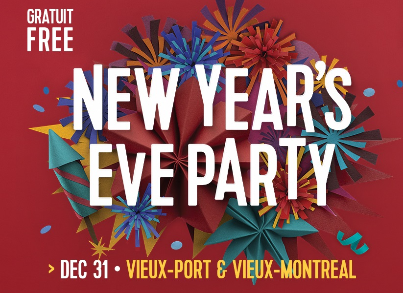 Merry montreal New Years Eve Party 2018