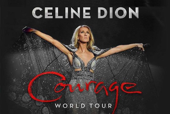 October Event Céline Dion - Courage Tour