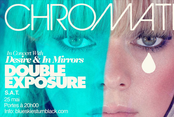 May Event Chromatics with Desire & In Mirrors: Double Exposure Tour