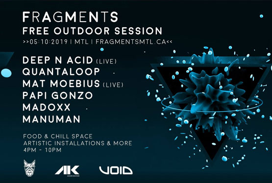 October Event Fragments 2.0 // Free Outdoor Session