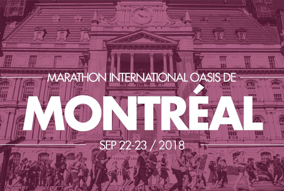 September Event Marathon International Oasis de Montréal