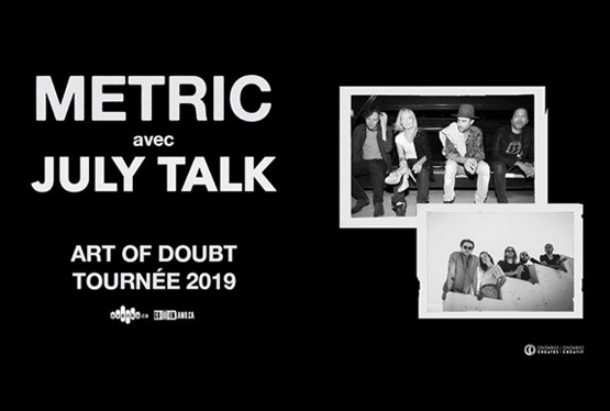 May Event Montreal Metric & July Talk
