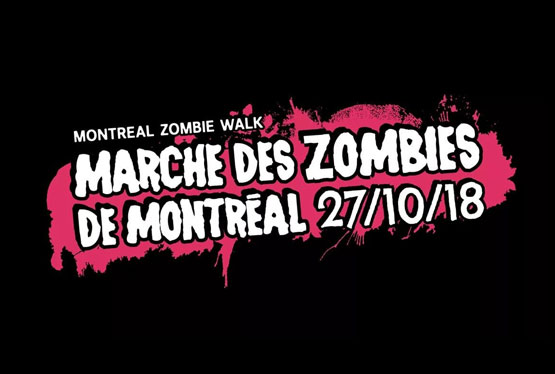 October Event Montreal Zombie Walk