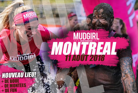 August Event MUD GIRL RUN Montreal