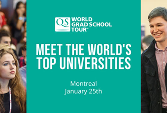January Event QS World Grad School Tour Montreal