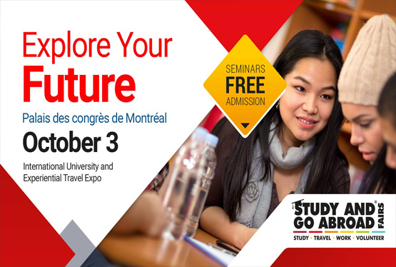 October Event Study and Go Abroad Fair Montreal