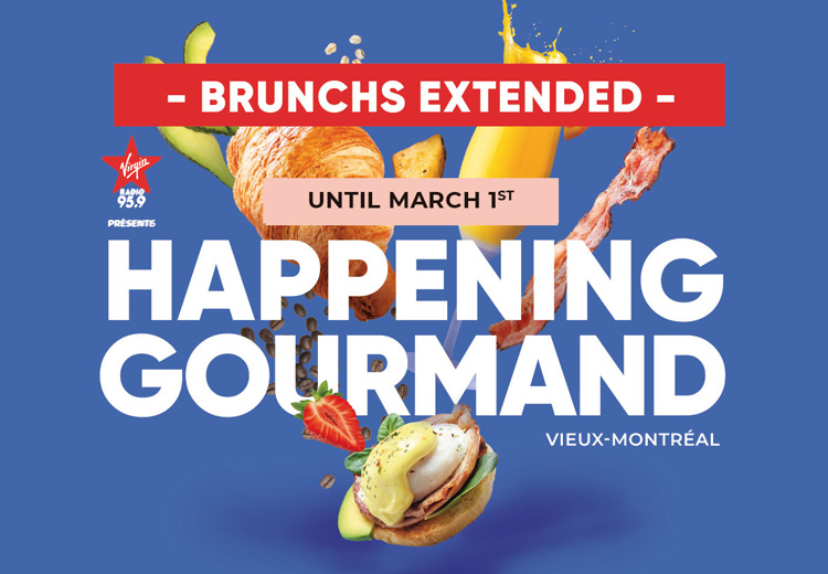 February Event Happening Gourmand