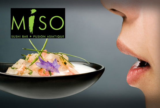 Miso Sushi Bar + Fusion Asiatique in Montreal