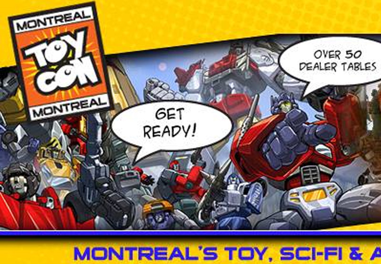 April Event Montreal ToyCon