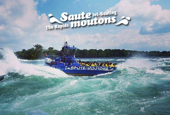 Saute-Moutons Jet-Boating Montreal on the Lachine Rapids