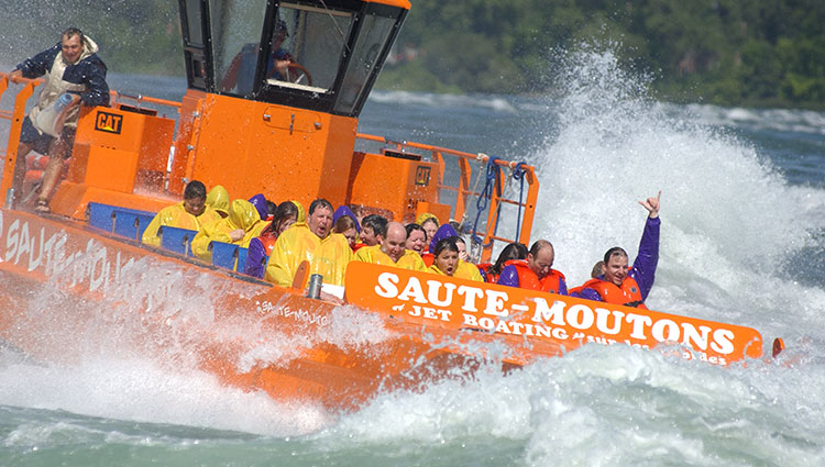 Saute Moutons Jet-Boating in Montreal